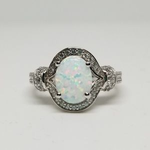 Jewelry - Sterling Silver Elegant Oval Ring